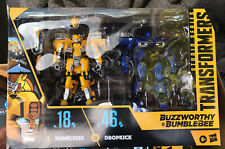 Transformers Studio Series Buzzworthy 18 Bumblebee 46 Dropkick Sealed In Hand