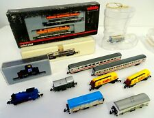 Marklin Mini Z Gauge train carriages locomotive boxcars baggagecar/caboose more