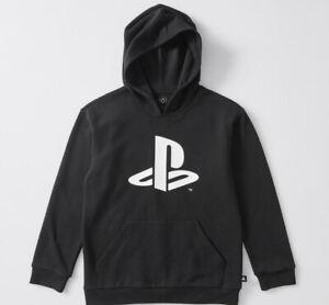 Boys size 9 Black PLAYSTATION  hoodie hoody top long sleeve hooded  NEW