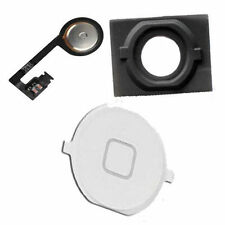 IPhone 4S Home Menu Middle Button Flex Cable Rubber Spacer Part Set White
