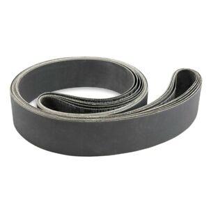 3X(12Pcs 1 x 30 Inch Silicon Carbide Fine Grit Sanding Belts 400  600  800  X3I2