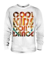 Cool Niños No Baile Unisex Suéter Hombre Mujer Blusa para Regalo Divertido Club