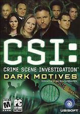 CSI: Crime Scene Investigation -- Dark Motives (PC, 2004)