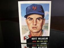 Rare Hoyt Wilhelm Topps Archives 1953 Reprint Card #151 New York Giants