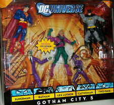 Super Friends DC Universe Lex Luthor Superman Batman Catwoman Action Figure Xmas