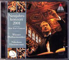 Neujahrskonzert aus Wien 2001 Nikolaus HARNONCOURT 2CD New Year's Concert Vienna