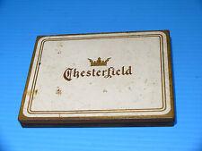 Chesterfield Cigarettes Antique Tin