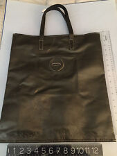 NEW swatch MONEY BANK BOX BAG Carmina Campus OOAK Ilaria FENDI BLACK LARGE SIZE