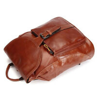 Women's Mini Backpack Leather Real Cowhide Portable Carry Bag