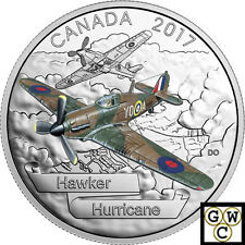 2017Hawker Hurricane-Aircraft of the Second World War'1oz$20Silver.9999(17980)NT
