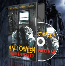 HALLOWEEN SOUND EFFECTS CD - HAUNTED ASYLUM - PARTY SCARY (200+ SOLD)