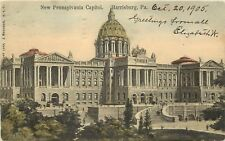 c1905 Hand Colored Postcard; New Pennsylvania Capito 00004000 l Harrisburg Pa Dauphin Co.