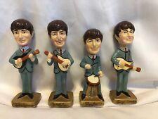 1964 Beatles Car Mascots Nodder Bobblehead Set