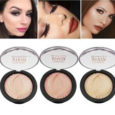 8Colors Shimmer Contour Highlight Powder Highlighter+Bronzer Cosmetic Makeup New