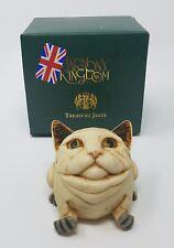 Harmony Kingdom Naughty & Nice Cat Limited 975/1200 Tjelpo2S Nib