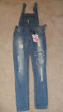 Wetseal Porkchop Pocket Skinny Overall size 3 NWT