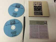 Deep Purple – Live In Denmark '72 2 CD Purple Records  PUR 203D DIGIPAK NMINT