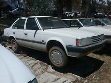 1986 Toyota Corona 140 series seat bolt wrecking complete car