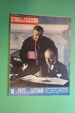 Histoire Du Fascisme 10/1960 Aquatique Avec Photo I Patti -de-latran Mussolini