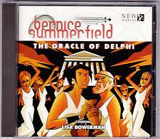 Bernice Summerfield - The Oracle Of Delphi - CD (Audio Book BFPCD33 Big Finish)