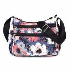 Waterproof Nylon Messenger Bag Ladies Large Travel Crossbody Handbag for Women