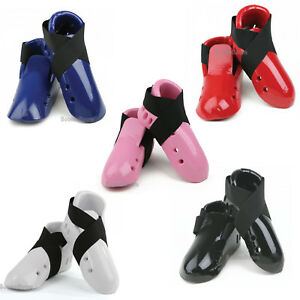 NEW Karate Foam Kick Karate Foot Protector Foam Foot Guard Sparring Gear-5Colors