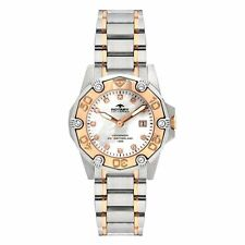 Stainless Steel Case Women's Adult Rotary Wristwatches