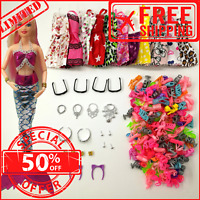 33 Barbie Doll MERMAID Outfits Clothes  Accessories Shoes dresses Costumes Girls