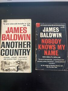 James Baldwin Book Lot - Nobody Knows My Name & Another Country