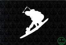WAKEBOARDING STICKER DECAL 120mmH  HyperLight Force Laptop Car or Boat.