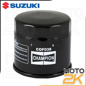 FILTRO OLIO CHAMPION PER SUZUKI DL V STROM 1000 2002 - 2019 16510-07J00-000