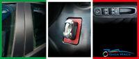 adesivi auto alfa romeo 159 montanti start alzavetri sticker decal carbon look