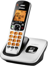 Uniden D1760 Cordless Phone Expandable Up To 12 Handsets - Silver