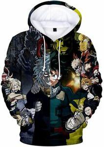 Academia Hoodie 3D Printed Hooded Pullover Sweatshirt