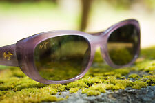 NEW Maui Jim polarized sunglasses Mauve Lilikoi Oval Womens MSRP 299$