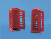 Telephone kiosks - OO/HO Accessories - Model Scene 5006 -