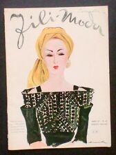 Moda Ricamo - Taglio cucito Fili Moda Lavori Femminili - N° 27 - Marzo 1943