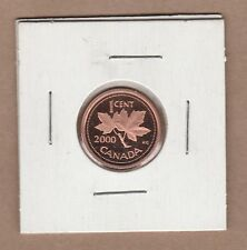 2000 Canadian Proof One Cent Penny from Proof Set