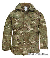 Genuine British Army Surplus MTP Camouflage Windproof Combat Smock Grade 1