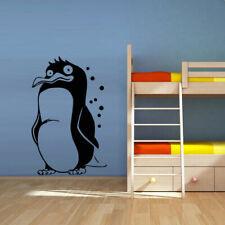 Wall Decal Penguin Animal Funny Swim Cartoon Ocean Sea Bird BedroomM432