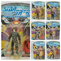 Star Trek The Next Generation Playmates 1992 Series 1 Unpunched