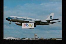 Varig Brazilian Airlines Convair 990A On Landing 1960'S Postcard