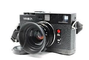 [Near MINT] Minolta CLE Rangefinder camera w/ M-Rokkor 40mm f/2 Lens From JAPAN