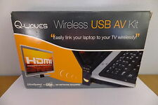 Q-Waves Wireless USB AV Kit Stream Video from PC to TV SOFTWARE ISSUE