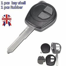 2 BUTTON UNCUT REMOTE KEY FOB CASE FOR SUZUKI IGNIS ALTO SX4 VAUXHALL AGILA - UK