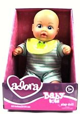 """Adora Baby Tots Doll 8.5""""Washable Soft Body Play BOY Doll for Age 1+"""