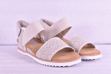 Women's Skechers Bobs Desert Kiss Wedge Sandals, Off White