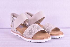 Women's Skechers Bobs Desert Kiss Wedge Sandals, Off White