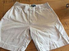 POLO RALPH LAUREN Mens Light Tan Beige Cotton Prospect Shorts Tan Beige 35 W