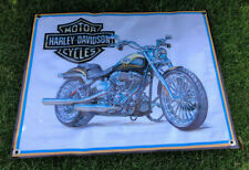 Harley Davidson motorcycle store banner display canvas poster model sign cap A3